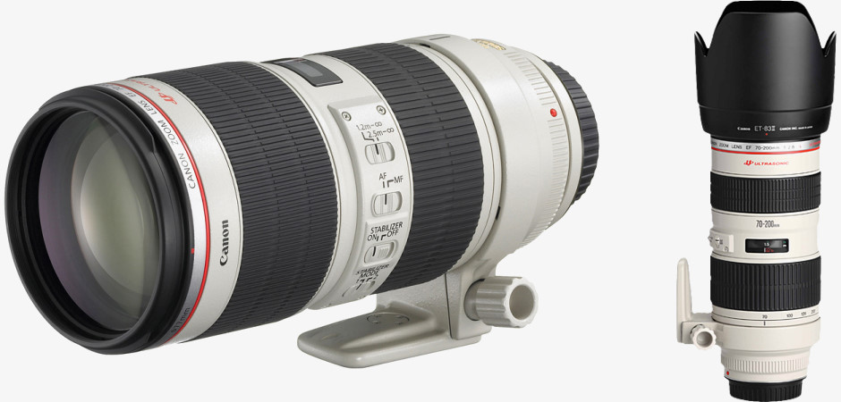 Обектив Canon EF 70-200mm f/2.8L IS II USM Lens