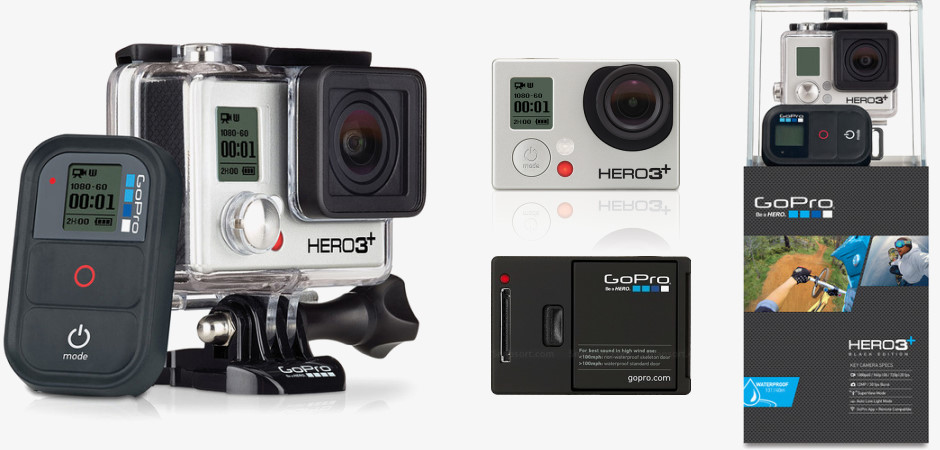 Камера GoPro HERO3+ Black Edition Camera